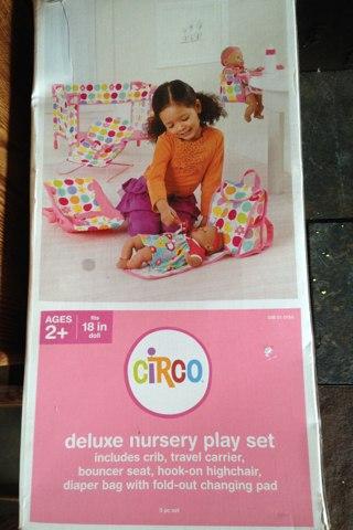Circo Doll Giftset Deluxe Nursery Playset