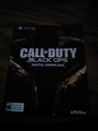 Free: code for a full game download of call of duty black ops (1.