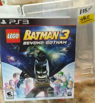 Lego Batman 3 Beyond Gotham PS3 (See Photos )