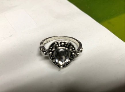 Silver Ring - Size 5.5