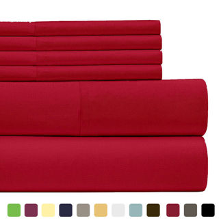 Egyptian Quaility 1800 Series Deep Pocket Bed Sheet Set(King, Queen, Twin and Full)