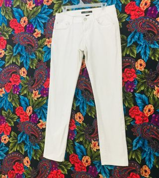 Women's South Pole Jeans Size 11 white jean pants South Pole