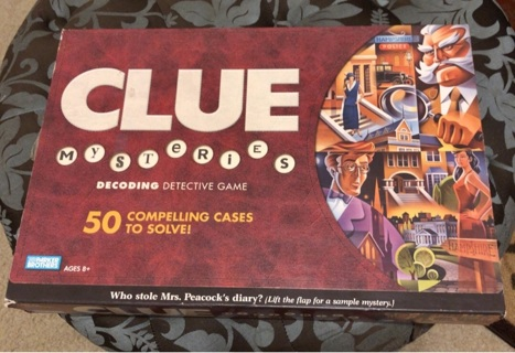 Clue Mysteries Game