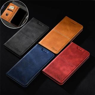 For Samsung Galaxy J8 J6 J4 Plus 2018 Magnetic Leather Flip Wallet Case Cover