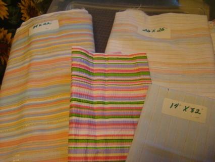 cotton striped bundle