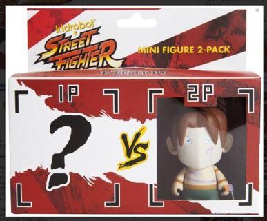 1 NEW Kidrobot™ Street Fighter Mini Series - 2 Pack : VEGA vs (?)(Blind Box)