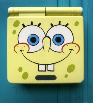 Rare and Hard to Find Vintage Limited Edition Spongebob Yellow GBS AGS-101