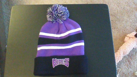 sacramento kings winter hat