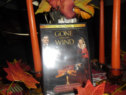 gone with the wind dvd new sealed
