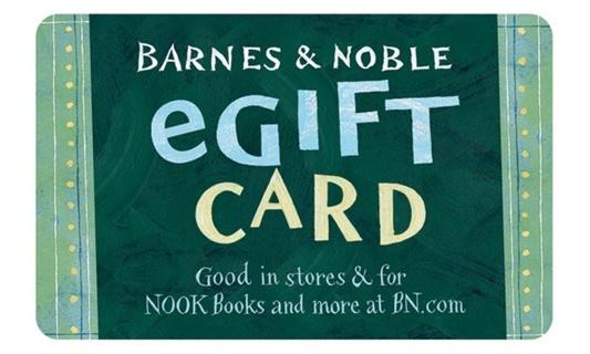 $5 Barnes & Noble E-Gift Card
