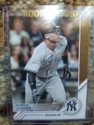 Aaron Judge Rookie Card Lot (7 cards)