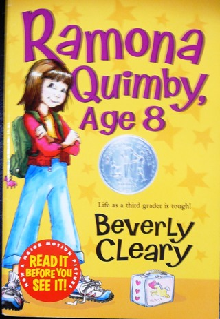 """Ramona Quimby Age 8"" by Beverly Cleary"