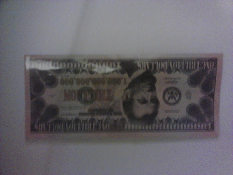 Free 1 000 Dollar Bill Thats Right One Trillion Novelty