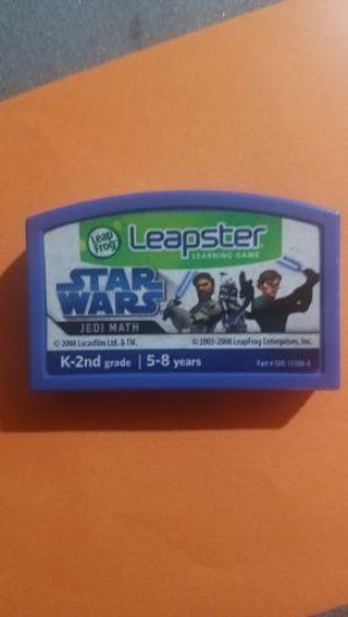 Leapster star wars jedi math. Grades K-2