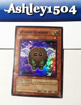 Winged Kuriboh - DR3-EN185 - Super Rare Dark Revelation 3 DR3 yugioh cards tcg