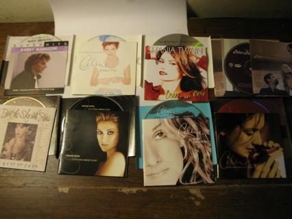CD Lot: Dion, Twain, Enya, Peter Paul & Mary, Manilow