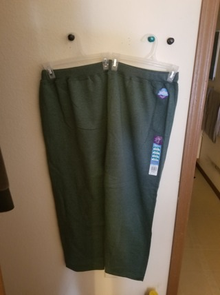 Just My Size SZ 26/28 Stay Clean Pants BNWT