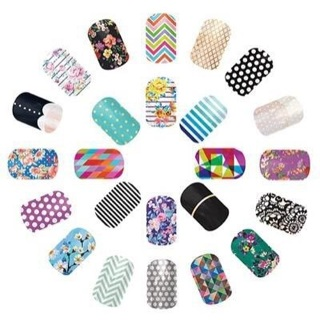 10 Mystery Jamberry Accent Wraps from my Stash - Free Shipping!