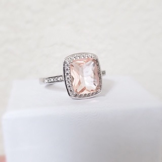 Beautiful Blush Morganite Ring Brand New Size 8