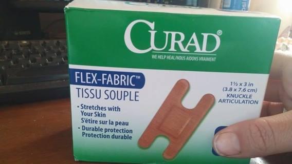 Curad Flex Fabric Bandages