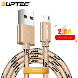 SUPTEC Micro USB Cable, 2.5A Fast Data Sync Charging Charger Cables Universal for Samsung Xiaomi H
