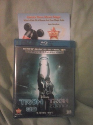 free disney movie rewards code from tron legacy rewards points