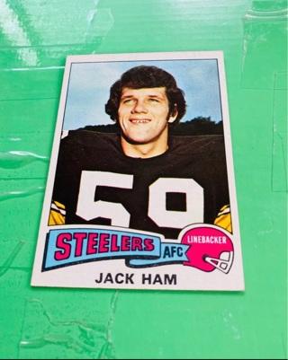 1975 Topps Jack Ham- NM-MT - Centered!