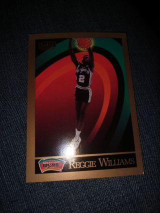 Basketball Card - Reggie Williams 1990