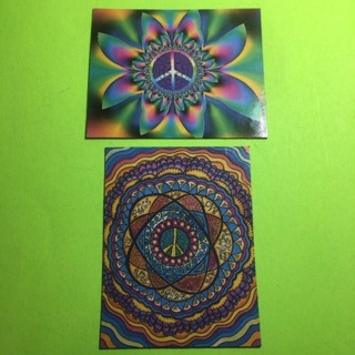 Peace/Hippie Magnets!