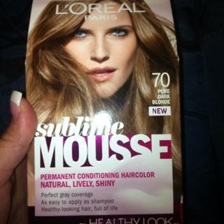 L Oreal Sublime Mousse Haircolor