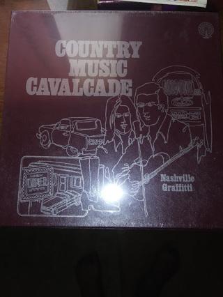 Country Music Cavalcade: Nashville Graffiti - 3 Vinyl LP Records VG SEALED