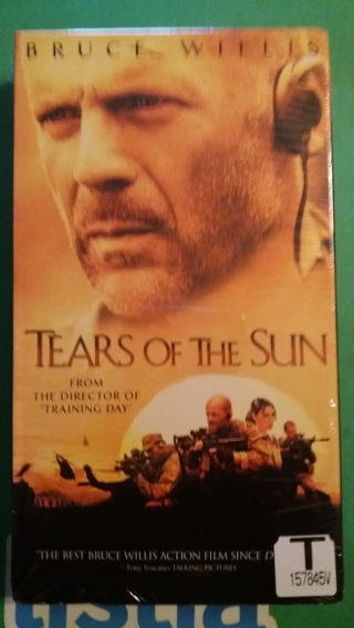 vhs tears of the sun free shipping