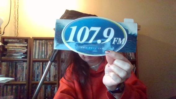 107.9 FM Bumper Sticker