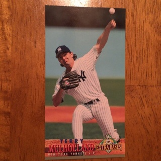 1994 Fleer Extra Bases - [Base] #134 Terry Mulholland