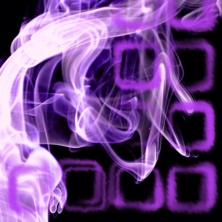Free: Cool Purple Smokey Iphone Home Screen - Other Cell Phone Items ...