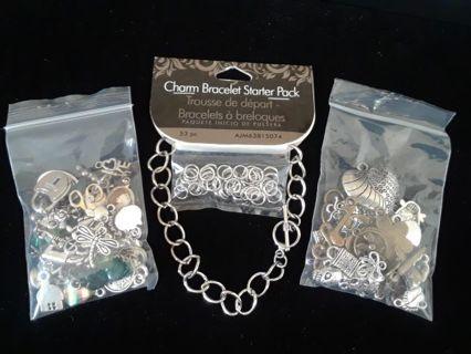 》》 Starter Bracelet Kit & Charms 《《