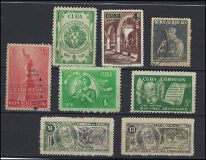 Cuba vintage selection, U/M/VF, nice!