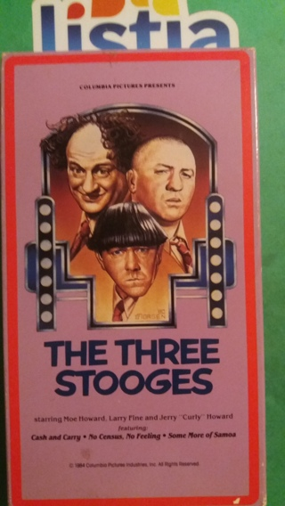 VHS movie  the three stooges  free shipping