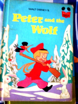 Collectible 1974 Vintage Book..Peter and the Wolf
