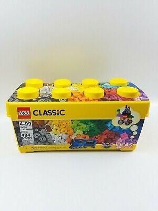 LEGO Classic Kids Creative Brick Box Kit (484 Pieces)