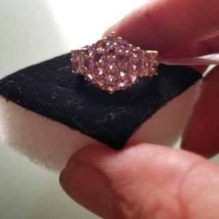 Gold diamond ring nwt.($1,369.00)retail !