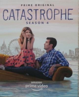 CATASTROPHE Season 4 DVD Amazon Prime FYC (Complete All 6 Episodes) FREE SHIPPING
