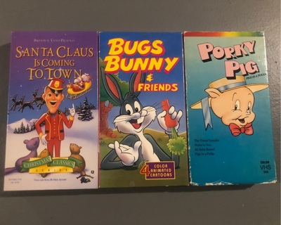 VHS Tapes (Kid shows)