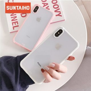 Shockproof Bumper Transparent Case For iPhone 7 Clear protection Back Silicone Phone Case for iPhone