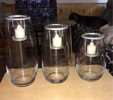 Partylite candle holders ( Free Shipping for United States )