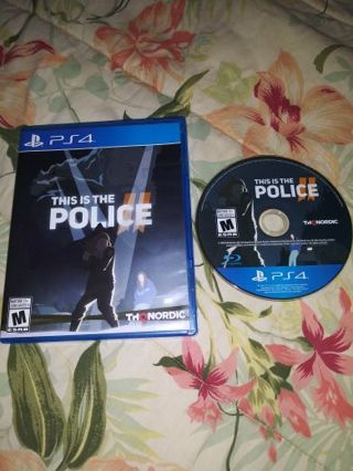 PS4 THIS IS THE POLICE 2...VERY GOOD CONDITION...NO SCRATCHES...FREE SHIPPING WITH TRACKING...