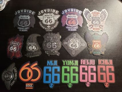 Route 66 Singapore| Sticker Lot | Skateboard | Stickers #3