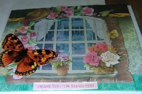 Thank You For Being You - Design Blank Note Card