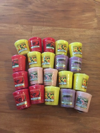 Yankee Candle Bouquet of Flowers 20 Votives