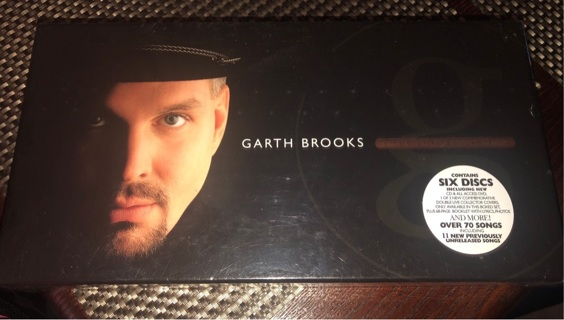 Garth brooks the limited series brand new in plastic